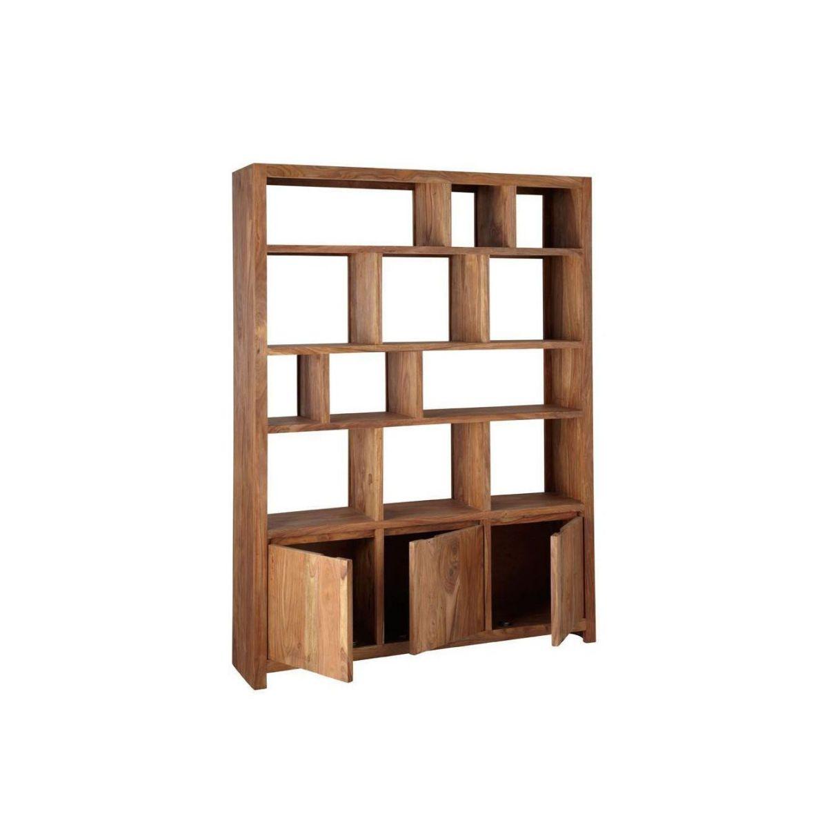 Solid Wood Large Bookcase Manufacturer In Jodhpur
